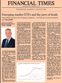 Emerging market ETFs and the jaws of death FT February 2017