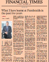 What I have learnt at Fundsmith in the past five years 21st Nov 15